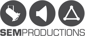 SEM productions  Mobile Retina Logo