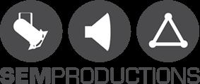 SEM productions  Mobile Retina Logo